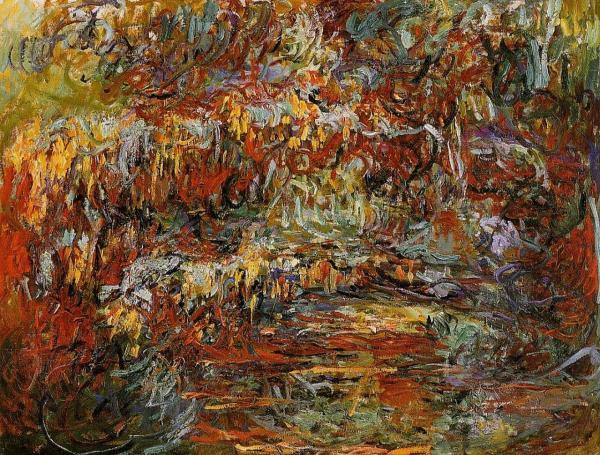 Japanese bridge | Claude Monet | 1924 |