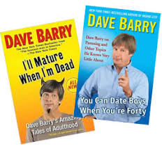 Dave Barry, humor columnist and author of Insane City