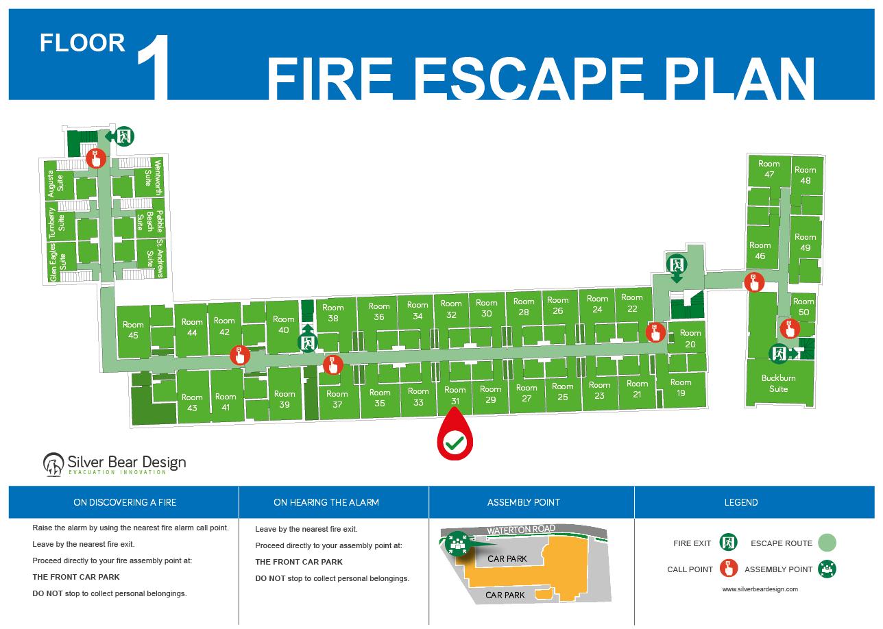 Hotel Evacuaton Plan