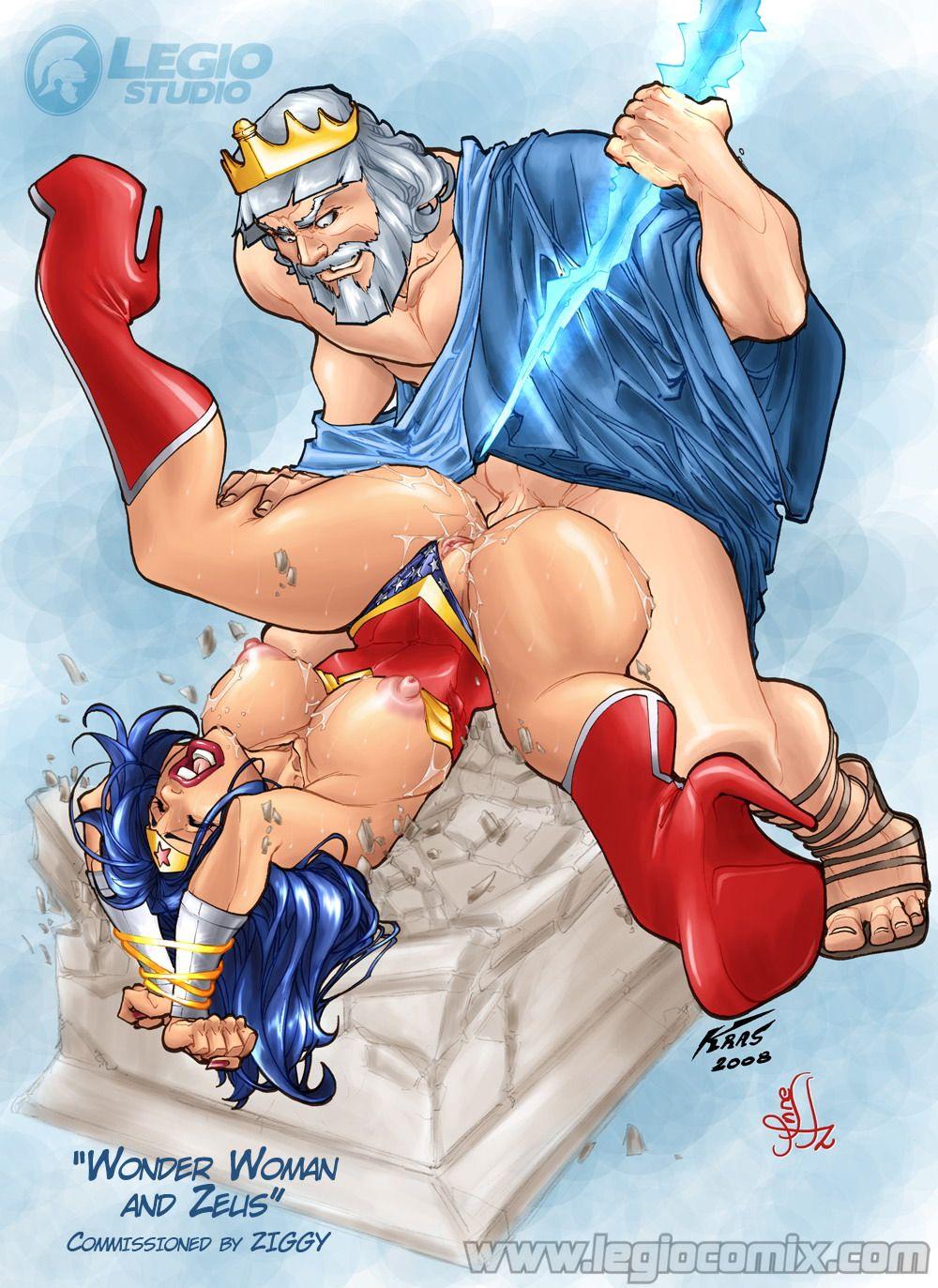 Wonder woman porn comic