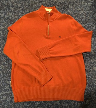 Orange Tommy Hilfiger Sweater