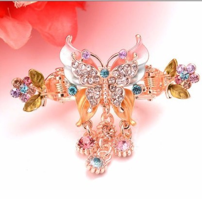 Multi-color Butterfly Hair Clip