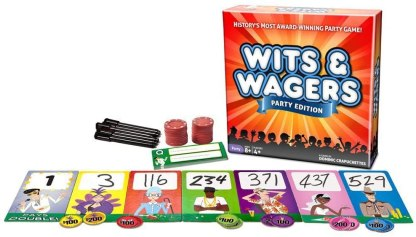 Wits & Wagers Board Game Play