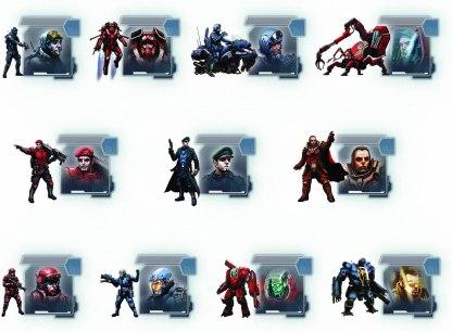 Stratego -sci-fi edition figures