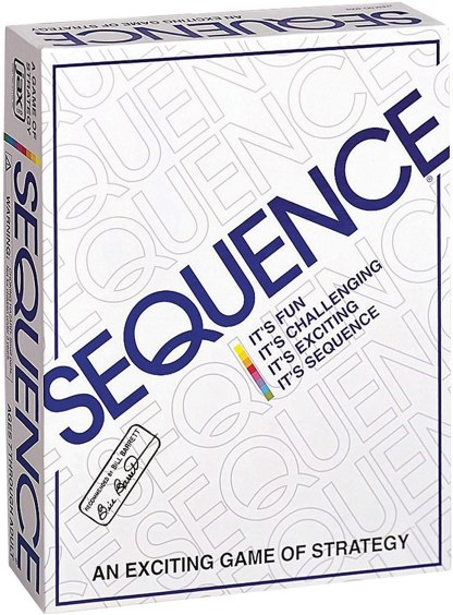 Sequence Board Game by JAX
