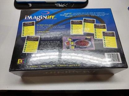 iMagine iff.. Board Game Back of Box