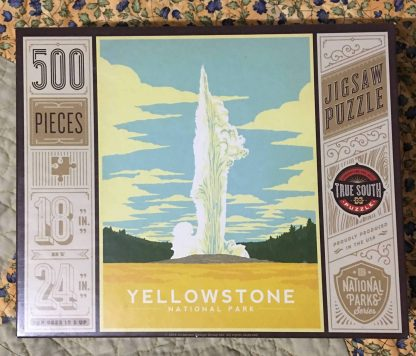 Yellowstone Puzzle Front