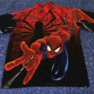 Spiderman Marvel Button Down Shirt 2001