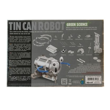 Tin Can Robot Science Kit Back