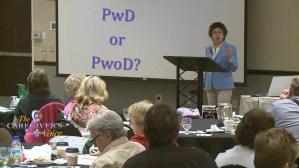 The Language of Dementia – PWD & PWoD?