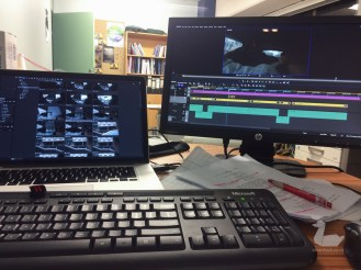 The on-set edit suite. silverduck160918-8514