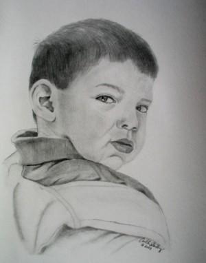 Pencil (graphite) portrait