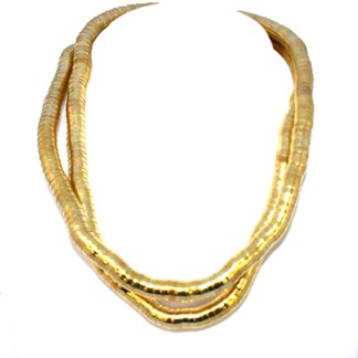 Make Your Own Necklace 10mm Flex Snake Gold PL Custom