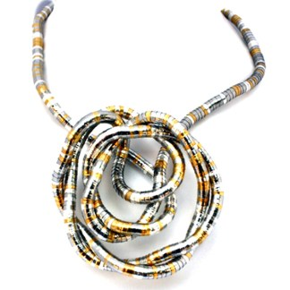 Make Your Own Necklace 6mm Flex Snake Tri Color Custom