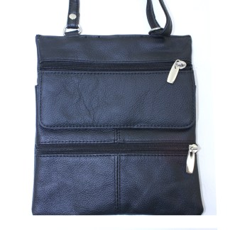 Silver Fever® Messenger Bag Flip Snap