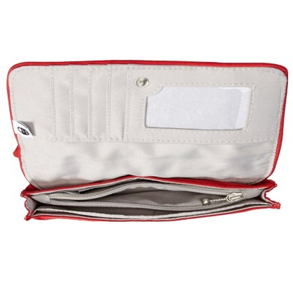 Baggallini  RFID Wristlet Wallet with Flap