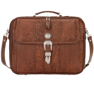 American West Retro Romance Collection Laptop Briefcase