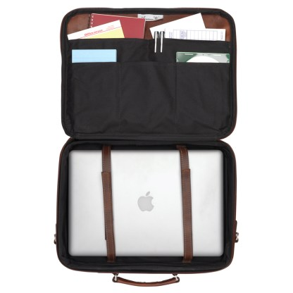 American West Retro Romance Collection Laptop Briefcase
