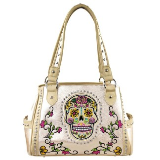 Montana West Sugar Skull Collection Handbag