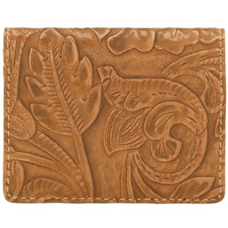 American West Bandana Amour Men's or Women's By Fold Wallet  sunset Tan