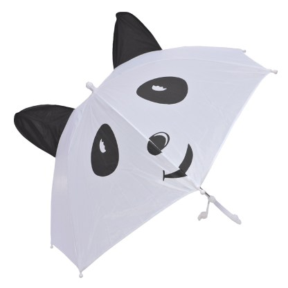 Fashionista Kids Animal Umbrella Sun Rain Protection Windproof Panda