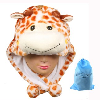 Silver Fever® Plush Soft Animal Beanie Ski Hat  Giraffe