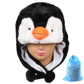 Silver Fever® Plush Soft Animal Beanie Ski Hat Penguin