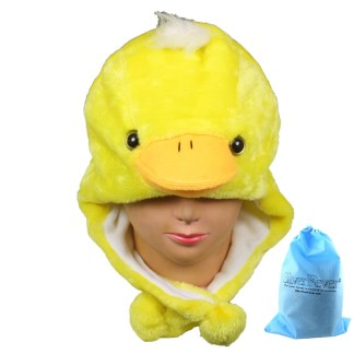 Silver Fever® Plush Soft Animal Beanie Ski Hat Yellow Duck