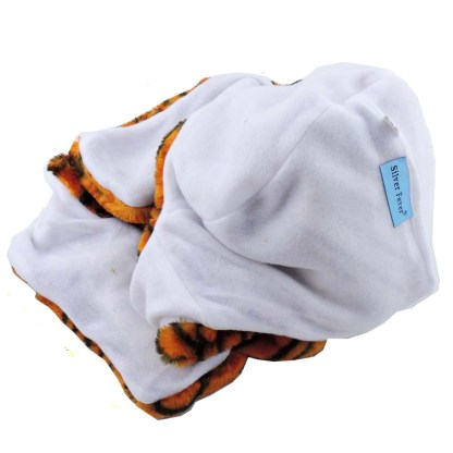 Silver Fever® Plush Soft Animal Beanie Hat w/ Built-In Mittens Paws Teddy Bear