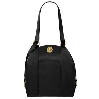 Baggalini Mendoza Backpack Shoulder Purse Convertible Black