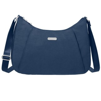 Baggallini Slim Crossbody Hobo Handbag with RFID Pacific