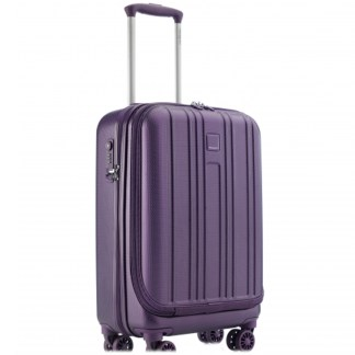 Hedgren Transit Travel Hardside Spinner Luggage -Purple Passion Boarding Carry On - Purple Passion