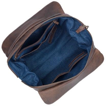 TrueLu American West Shoulder Bag, Ava Walnut