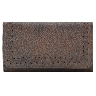 TrueLu American West Wallet, Claire Walnut