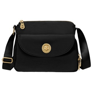 Baggallini Provence Crossbody Purse  Black