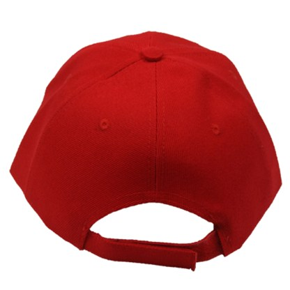 Silver Fever® Classic Baseball Hat 100% Adjustable Unisex Trucker Cap - Made to Last - Red Color