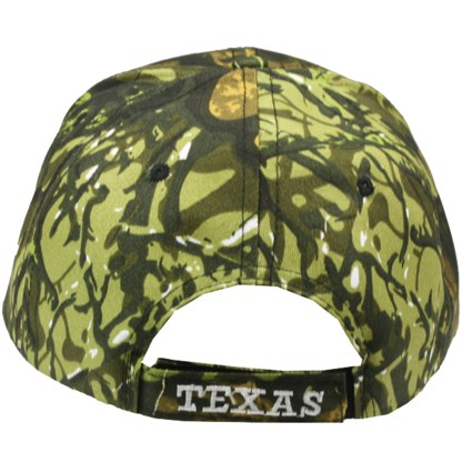 Silver Fever® Classic Baseball Hat 100% Adjustable Unisex Trucker Cap - Made to Last - Texas Bull Camouflage