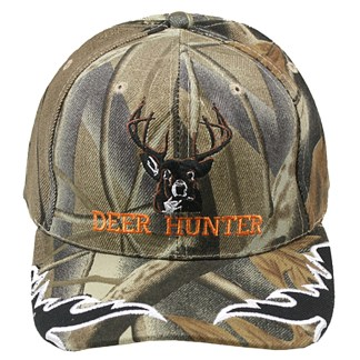 Silver Fever® Classic Baseball Hat 100% Adjustable Unisex Trucker Cap - Made to Last - Deer Hunter Grey Camouflage