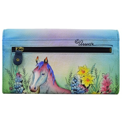 Anna by Anuschka Leather Try Fold Organizer Wallet - Mothers Love
