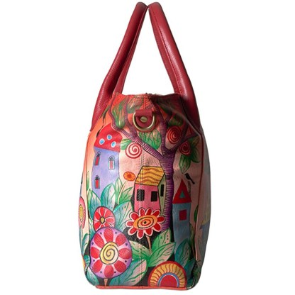 Anna by Anuschka Leather Slouch Tote - Village of Dream