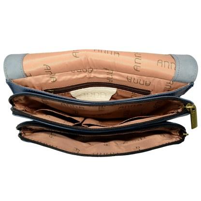 Anna by Anuschka Leather Medium Saddle Bag - Love in Paris