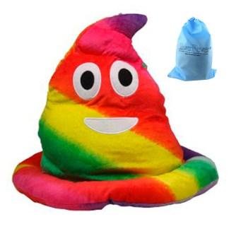 SILVERFEVER Plush Soft Animal Beanie Ski Hat Emoji  Rainbow Poop Dalmation Dog [CLONE] [CLONE] [CLONE] [CLONE] [CLONE] [CLONE] [CLONE]