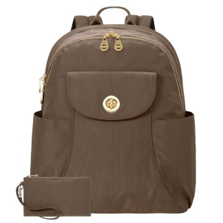 Baggallini Barcelona Laptop Backpack, Portobello