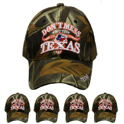 Silver Fever® Classic Baseball Hat 100% Adjustable Unisex Trucker Cap - Made to Last -- Do Not Mess with Texas
