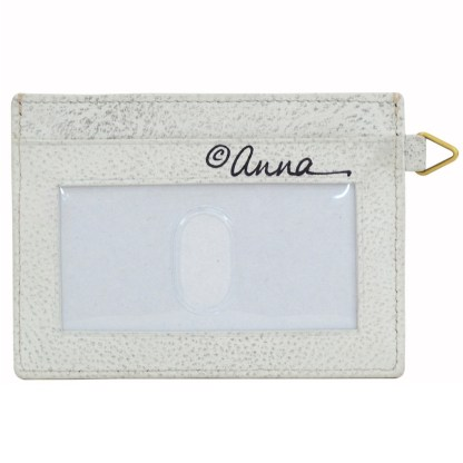 Anna by Anuschka Leather Slim Credit Case Wallet - Floral Paradise