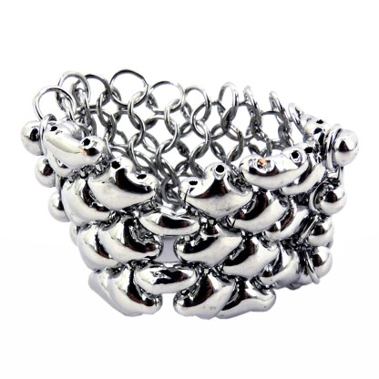 Liquid Metal Chainmail Ring by Sergio Gutierez - Select your Size