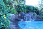 The waterfall, best for jumping
