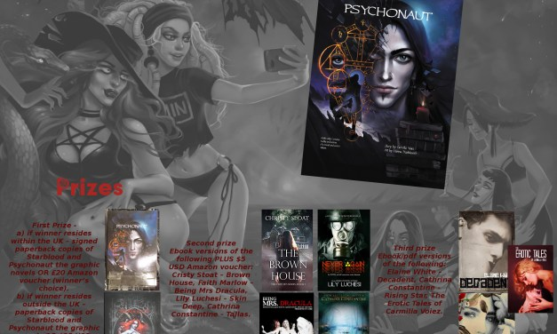 HOT – 'PSYCHONAUT' by Carmilla Voiez – Plus FREE STUFF