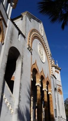 Presbyterian church facade