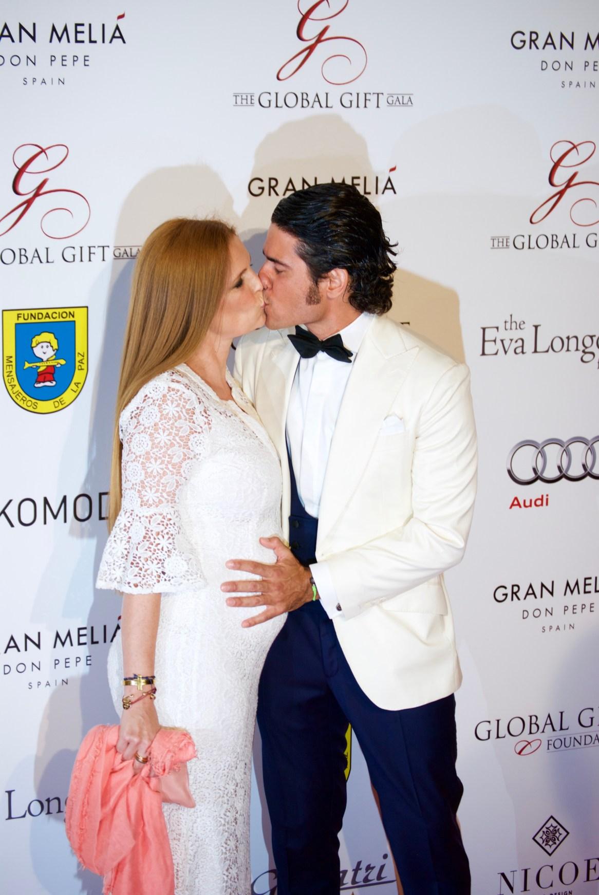 Olivia de Borbón y Juan Porras